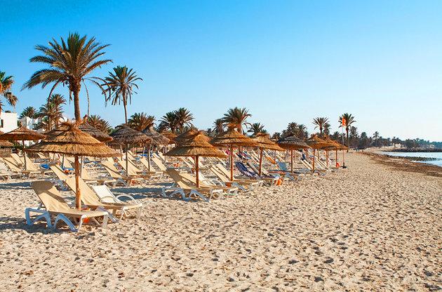 Пляж Sidi Maharès, Тунис Джерба