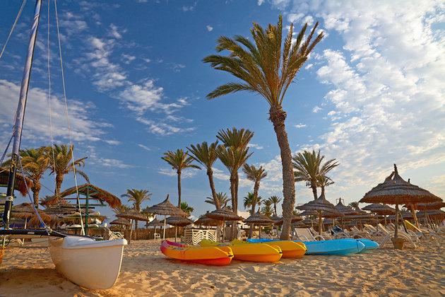 Пляж де ла Séguia, Тунис Джерба