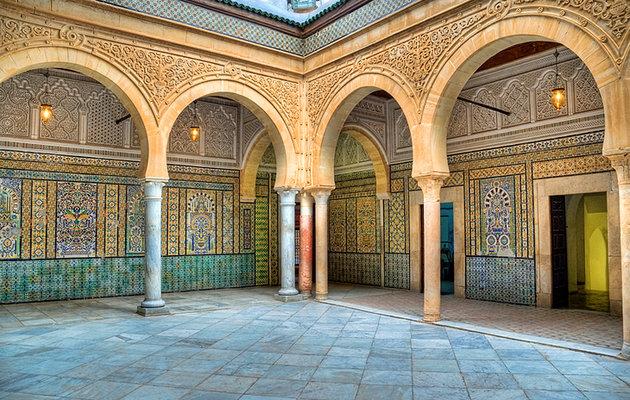Мечеть Брадобрея (Заоуия Сиди Захиб) Тунис