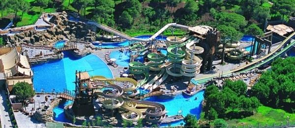 аквапарк Анталии