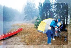 палаточный городок в кубани