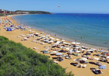 Веб камера Алании пляж Инжекум
