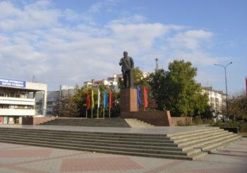 Онлайн веб камера на площади Ленина, Бахчисарай