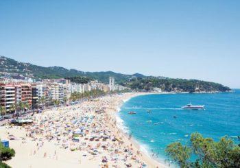 Онлайн веб камера пляж Льорет, Льорет-де-Мар, Каталония, Испания