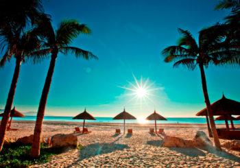 Онлайн веб камера пляж Нячанг, Вьетнам