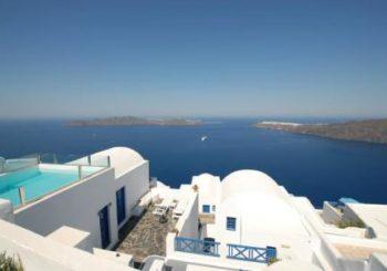 Онлайн веб камера отель Heliotopos Имеровигли, остров Санторини