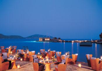 Онлайн веб камера пляж Ханья, остров Крит, Греция