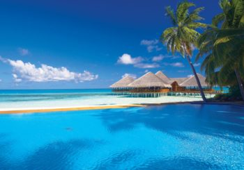 Онлайн веб камера Мальдивы Medhufushi Island Resort