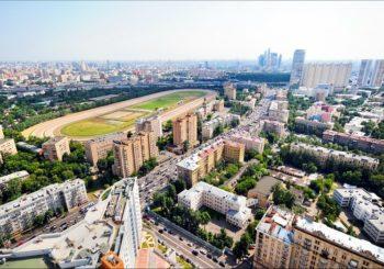 Онлайн веб камера Москвы Беговая улица
