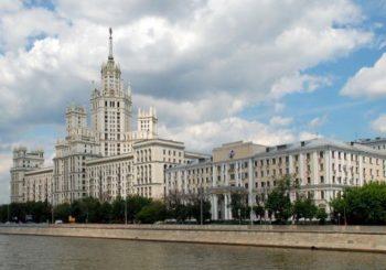 Онлайн веб камера Москвы вид на Котельническую набережную