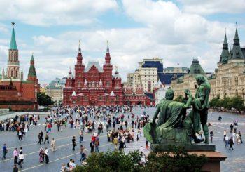 Онлайн веб камера Москвы Красная площадь