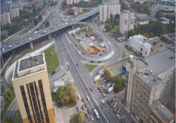 Онлайн веб камера Москвы Нижегородская улица