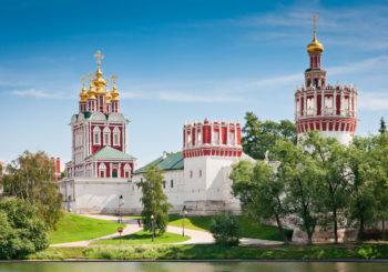 Онлайн веб камера Москвы Новодевичий монастырь