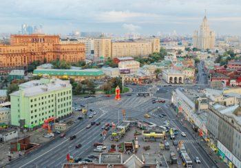 Онлайн веб камера Москвы Таганская площадь