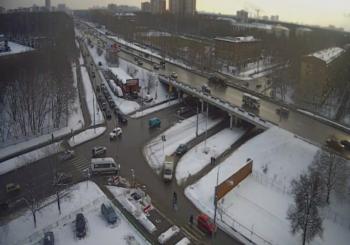 Онлайн веб камера Москвы перекресток