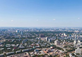 Онлайн веб камера Москвы вид с Останкинской телебашни