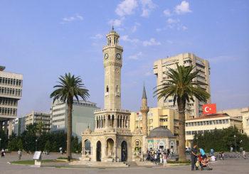 Онлайн веб камера Турция Измир часовая башня