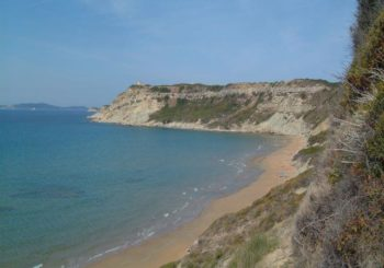 Онлайн веб камера пляж Ариллас остров Корфу