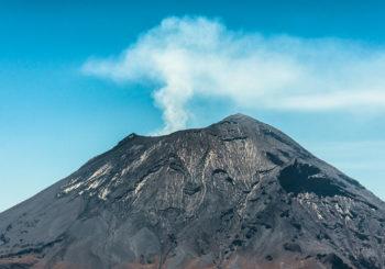 Онлайн веб камера вулкан Попокатепетль