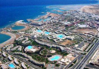 Онлайн веб камера Египет Хургада панорама