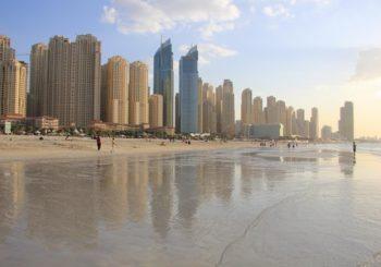 Онлайн веб камера ОАЭ Дубай пляж Марина