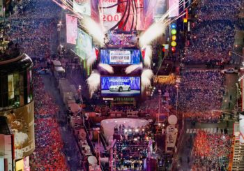 Онлайн веб камера США Нью-Йорк Таймс-Сквер