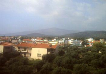 Онлайн веб камера Греция остров Тасос панорама Потос