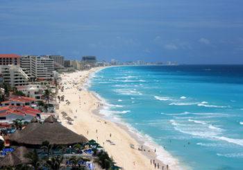 Онлайн веб камера Мексика Канкун побережье