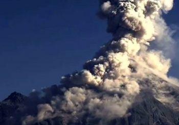 Онлайн веб камера Мексика вулкан Колима