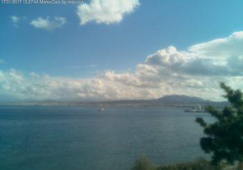 Онлайн веб камера Греции, Крит, залив в Ираклионе