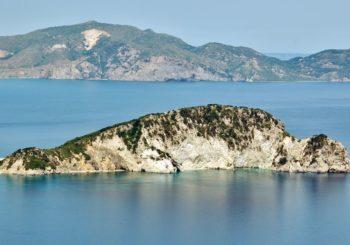 Онлайн веб камера Греция Закинф вид на остров Марафониси