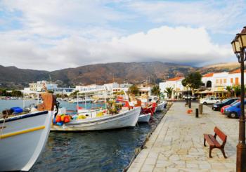 Онлайн веб камера Греции остров Андрос порт Гаврио