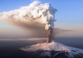 Онлайн веб камера Италия Сицилия вулкан Этна