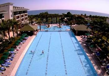 Онлайн веб камера Турция Сиде отель Alva Donna Beach Resort