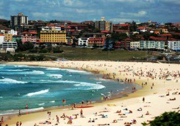 Онлайн веб камера Австралия пляжи Сиднея