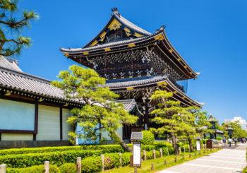 Онлайн веб камера Храм Хигаши Хонганджи в Киото, Япония