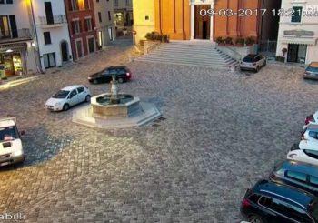 Онлайн веб камера площадь коммуны Пеннабилли в Римини, Италия