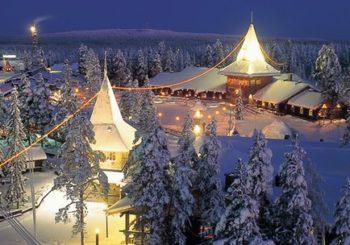 Онлайн веб камеры Санта Клауса в Лапландии, Финляндия