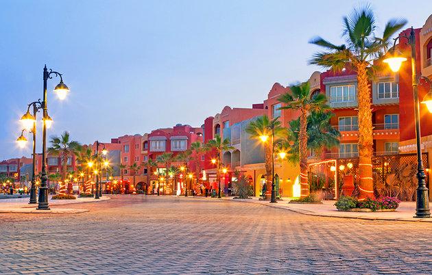 Порт Марина, Египет Хургада