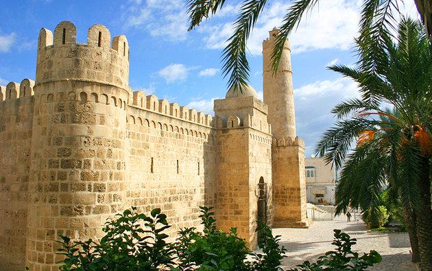 Крепость Касба Тунис