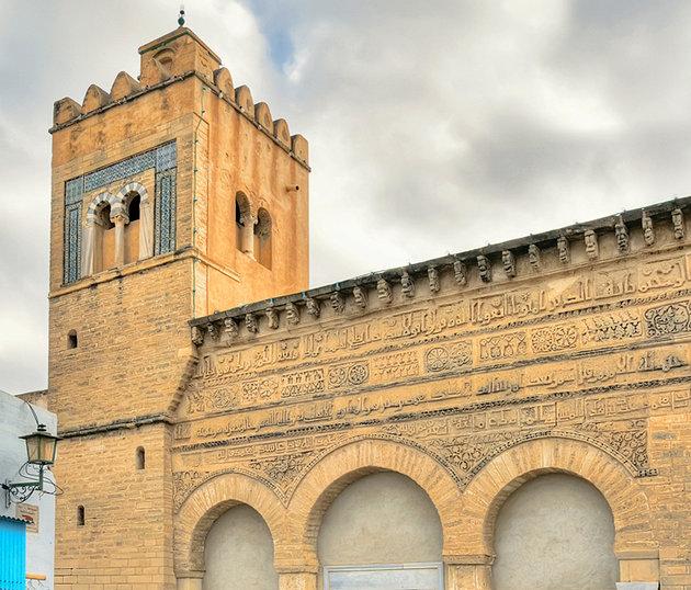Трехвратная мечеть Тунис