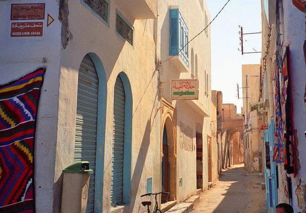 Восточные базары Тунис