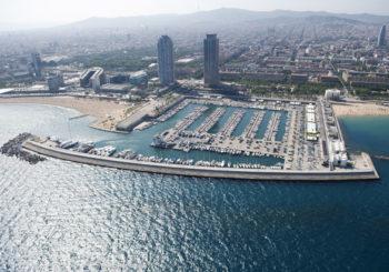 Онлайн веб камера Порт-Олимпик, Барселона