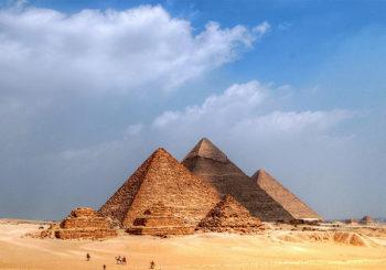 Онлайн веб камера пирамиды Гизы в Каире, Египет