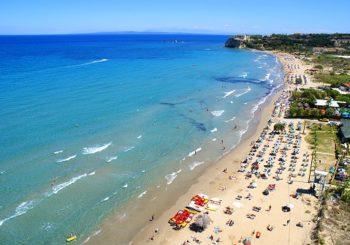 Онлайн веб камера пляж Циливи остров Закинф Греция