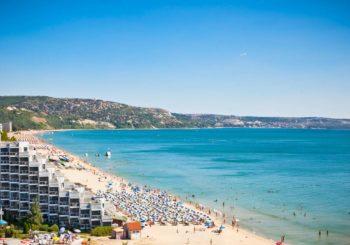 веб камера пляж Черного моря, Албена