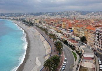 Онлайн веб камера Английская набережная, Ницца, Франция