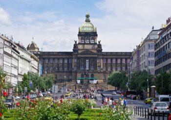 Онлайн веб камера Вацлавская площадь, Прага, Чехия