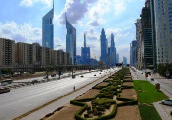 Онлайн веб камера автомагистраль имени шейха Заеда, Дубай
