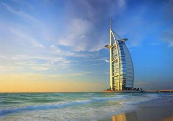 Онлайн веб камера отель Бурдж аль-Араб, Дубай, ОАЭ